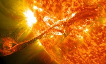 Video: NASA Photographs a Tendril-Like Solar Eruption in Stunning Detail