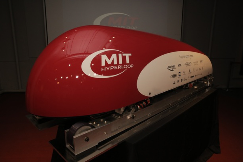 MIT has just revealed it's SpaceX Hyperloop commuter pod.