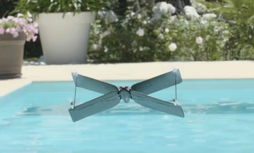 Parrot Unveils New X-Winged Drone
