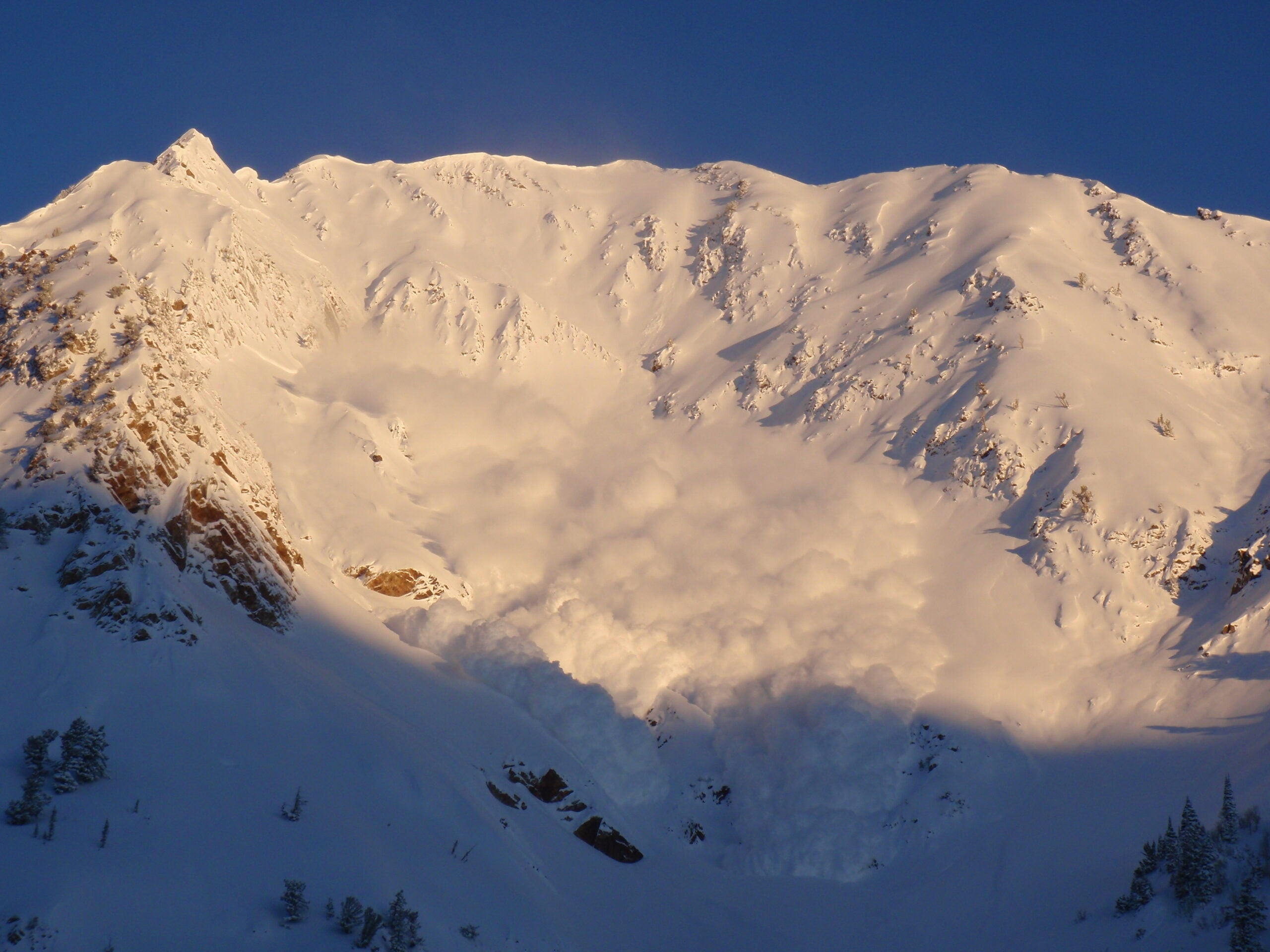 What to do if you get caught in an avalanche