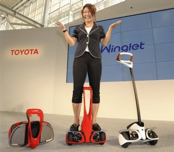 Toyota Winglet to Challenge the Segway