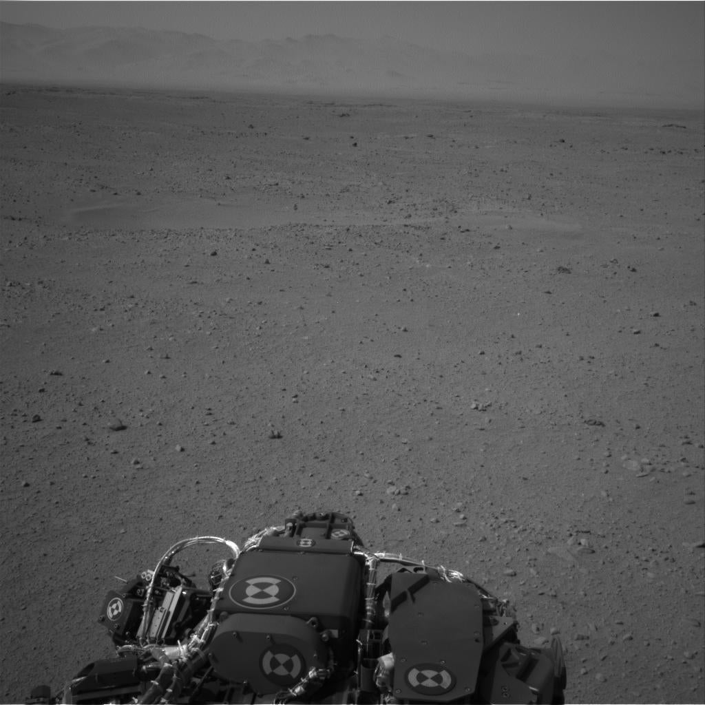 Today On Mars: Roving And Photo-Snapping
