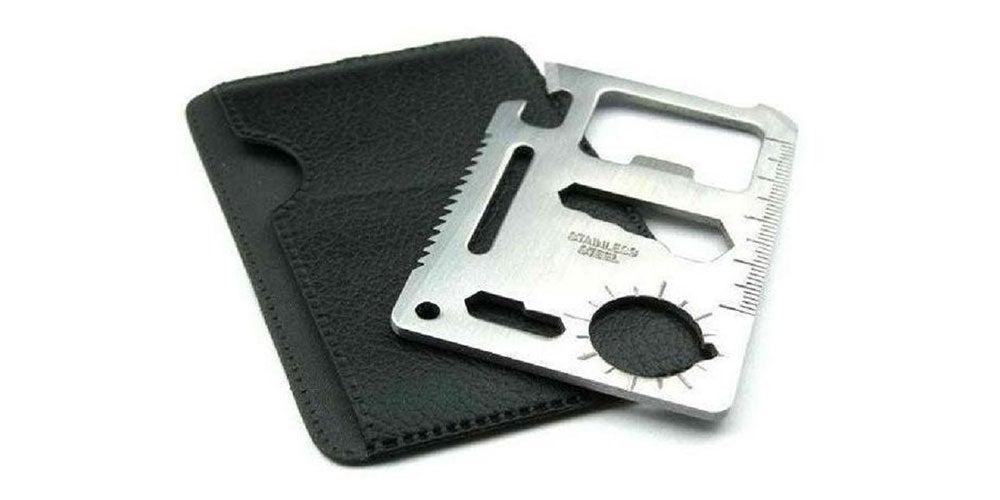 Wallet Sized Pocket Multi-Tool: 2-Pack