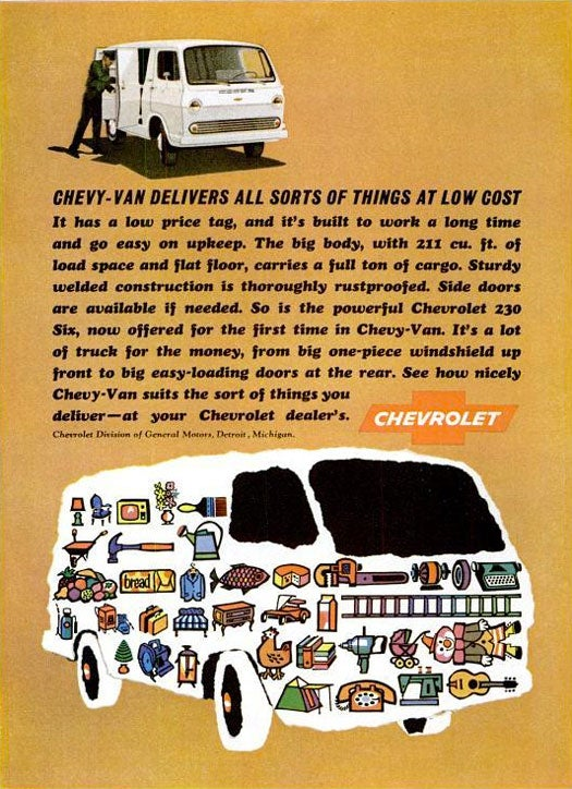Chevy-Van: January 1965