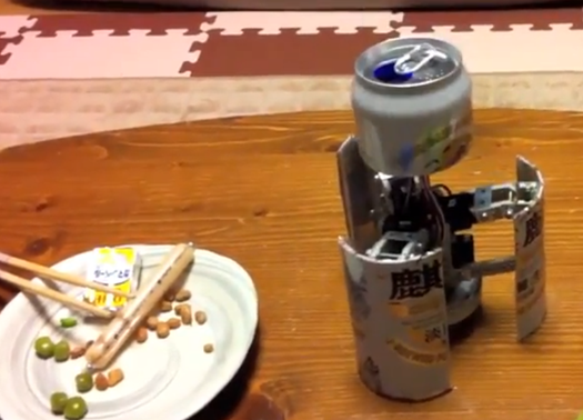 Perfect for a Hot Day: A Robot That's Also a Beer