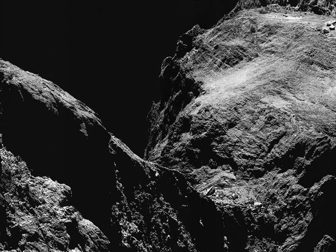 xenon found on comet 67P