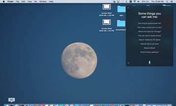 How To Use Siri On Your Laptop In MacOS Sierra