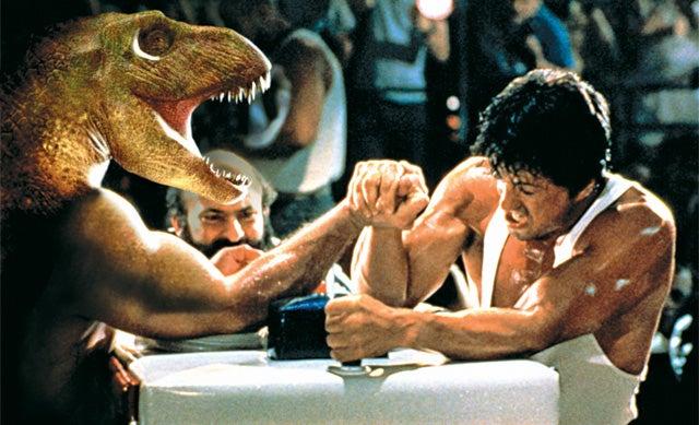 FYI: Could A Human Beat A T. Rex In Arm Wrestling?
