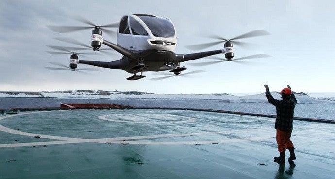 Ehang 184 China Passenger Drone