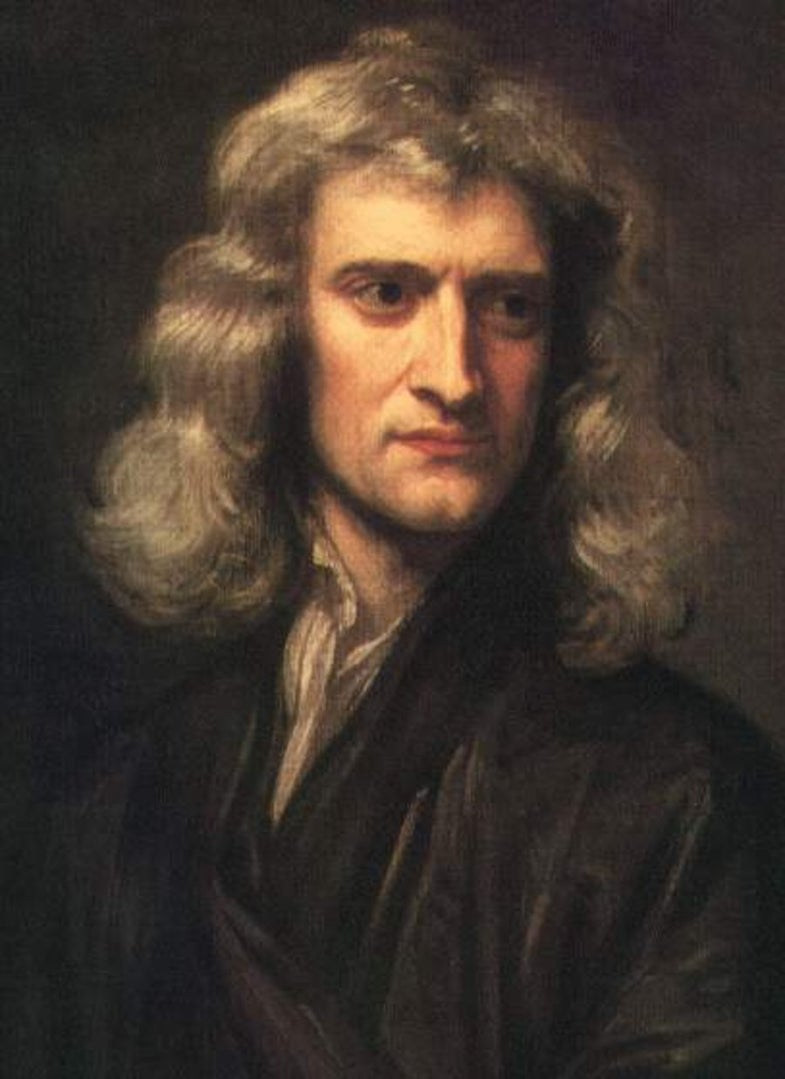 Early Lives Of The Scientists: Teen Isaac Newton Admits to His Sins
