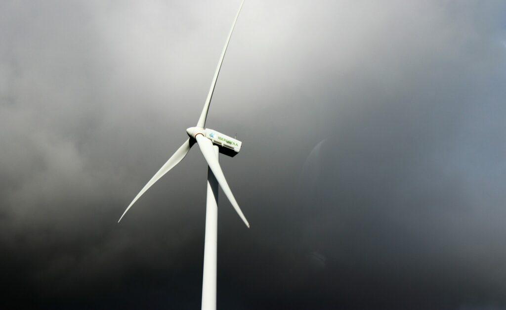 wind turbine clouds