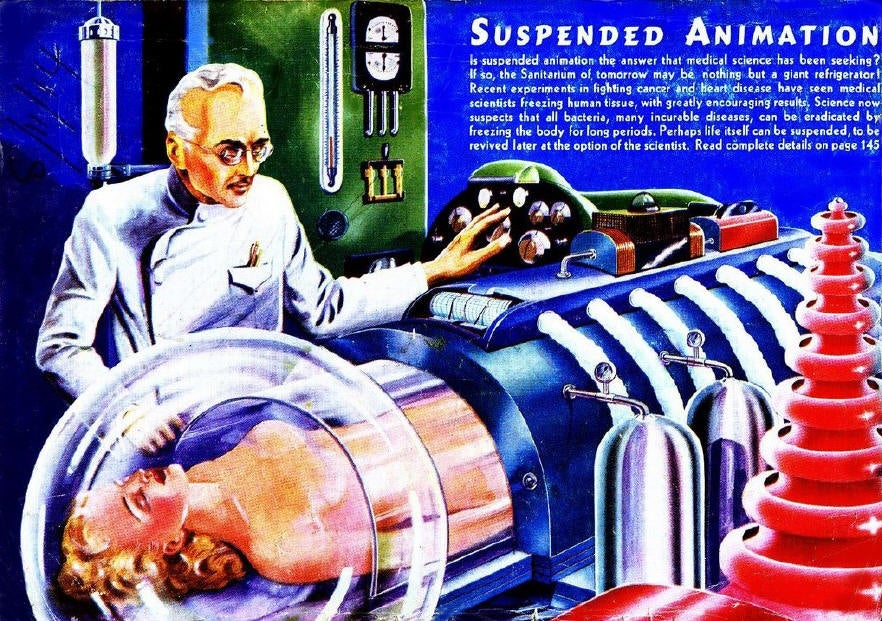 Suspended Animation Gets Real