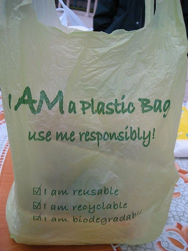 New Plastic Bags Biodegrade in Four Months
