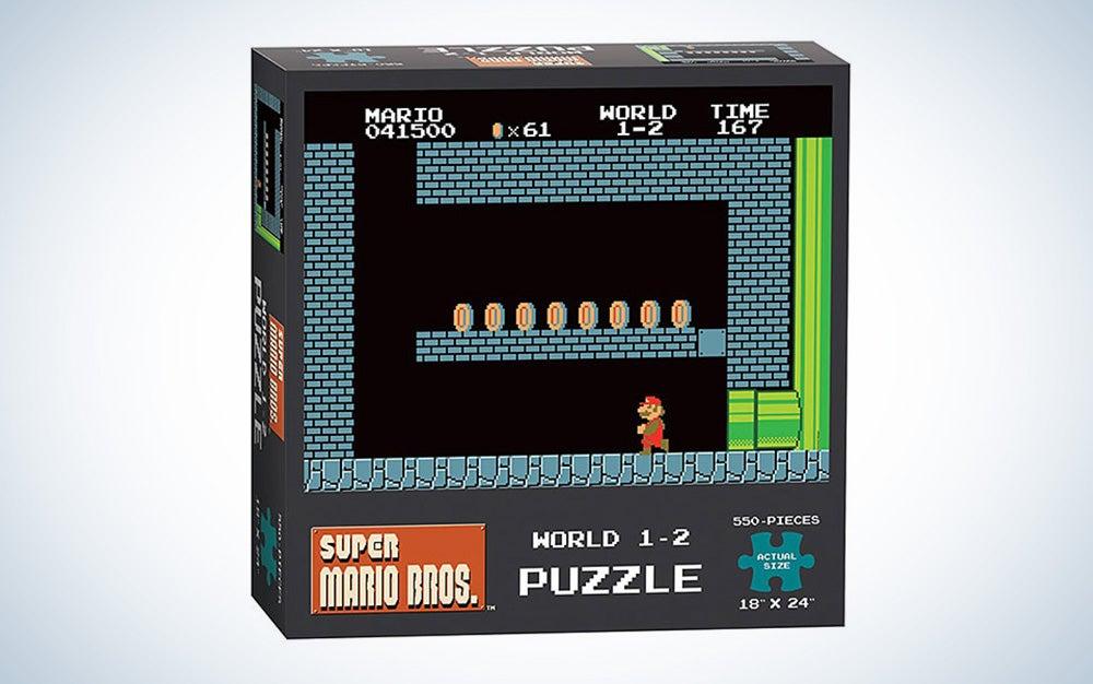 Super Mario Bros. World 1-2 550pc Puzzle - Exclusive