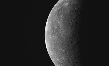 NASA's Messenger Flyby Captures Never-Before-Seen Images of Mercury