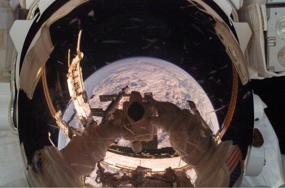 NASA astronaut Clay Anderson