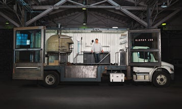 You Built What?!: A 14-Ton Pizzeria on Wheels