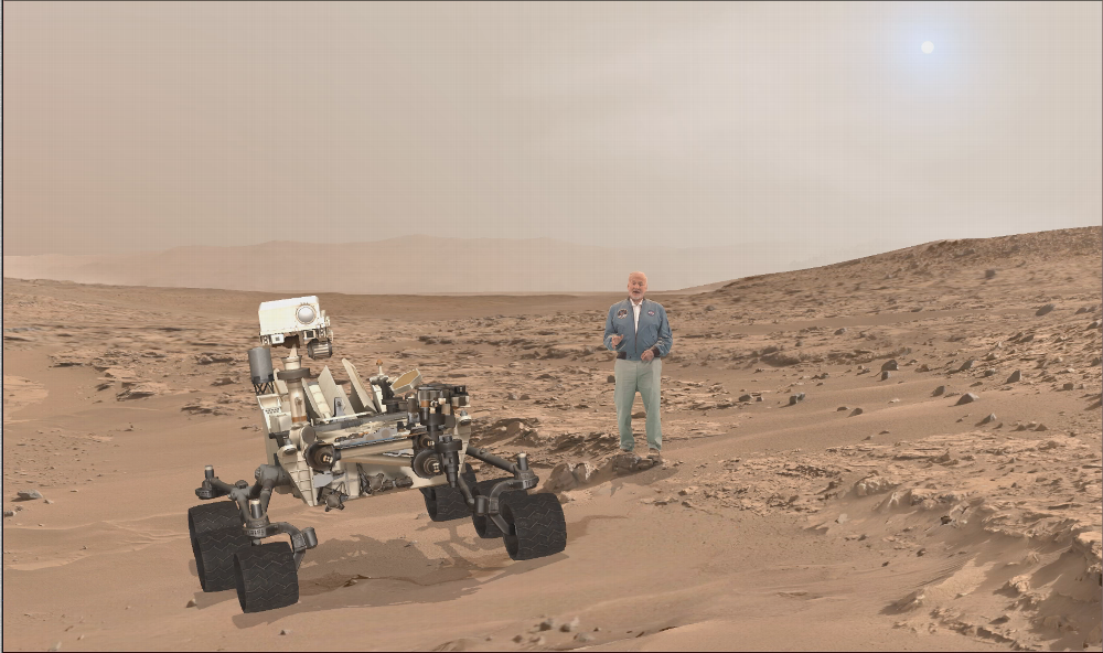 New Exhibit Uses Augmented Reality To Send You To Mars