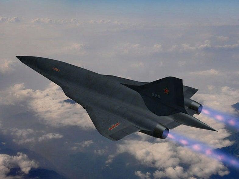 China Hypersonic Plane