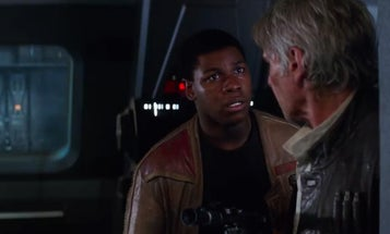 New 'Star Wars: The Force Awakens' Spot Shows Finn In Action