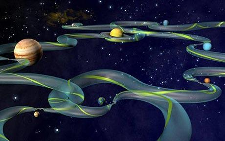 Scientists Map Out Gravitational Space Highways
