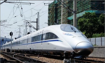 Chinese Government  to Build 215-MPH Bullet Trains in California