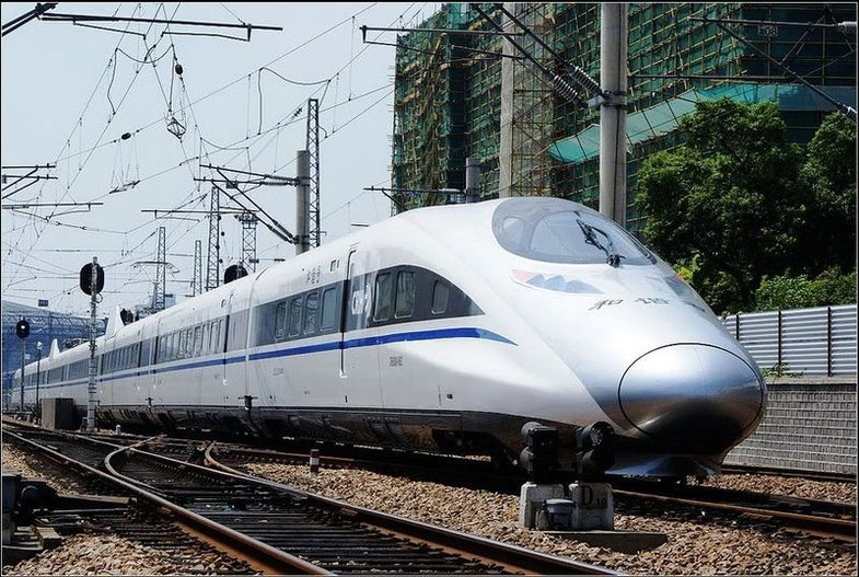 China's International High Speed Rail Network Begins to Take Shape in Asia