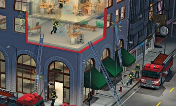 Networked Sensors Track Firefighters to Get Them Out Alive