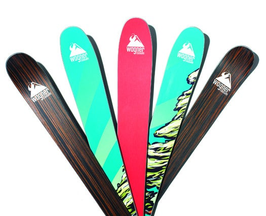 With A New Core Material, Skis Can Handle Both Powder And Ice