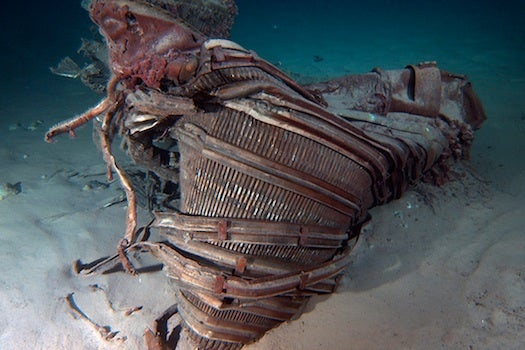 Apollo-Era Rocket Engines Rescued From The Sea