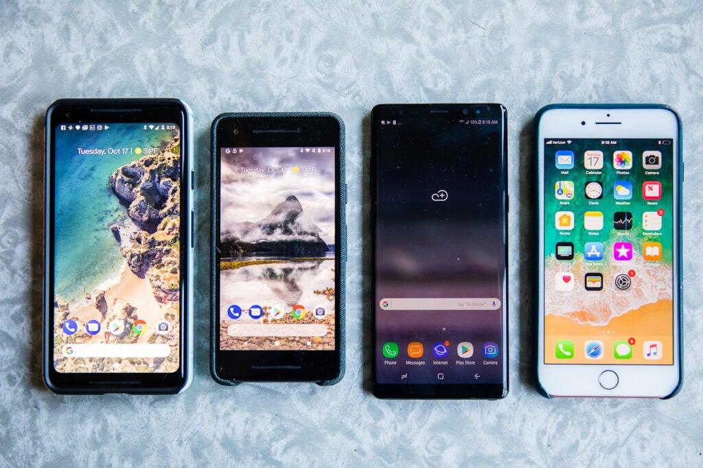 Pixel 2 Comparison
