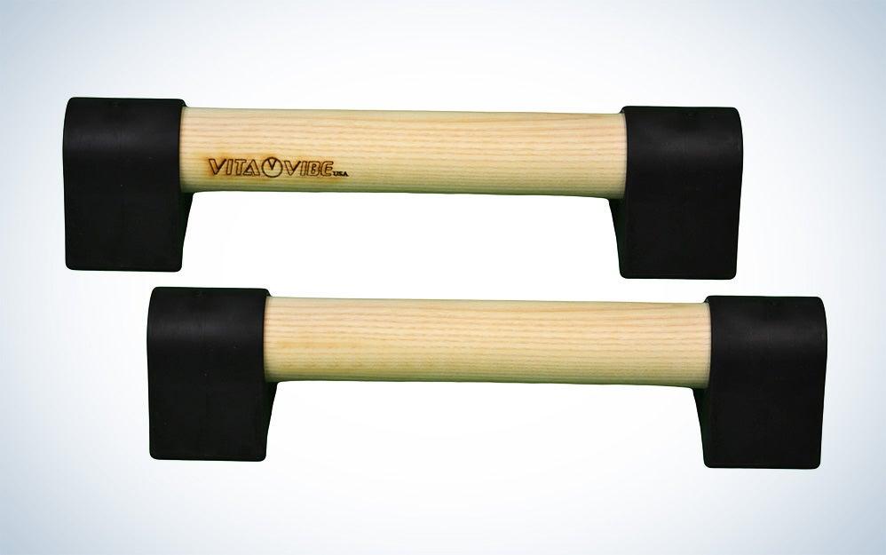Wood Mini Parallettes Set