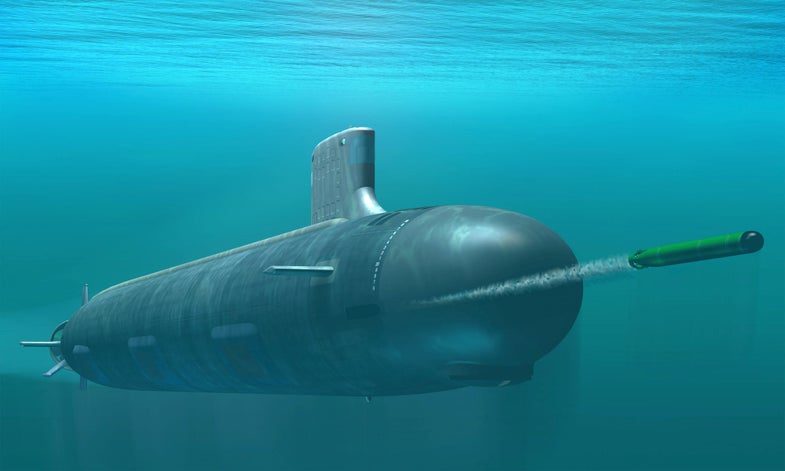 Concept Art For Virginia Class Submarine