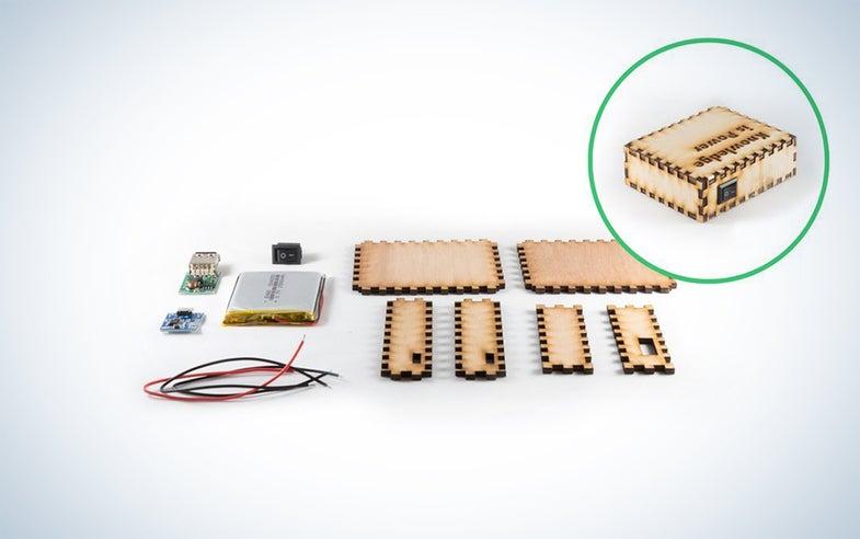 Kitables DIY USB Portable Charger Kit