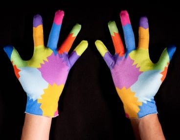 MIT Gesture-Based Computing System Uses Motley Clown Gloves for Finer, Faster Control