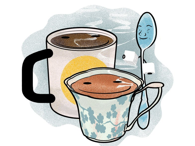 Does Coffee Give You A Different Buzz Than Tea?