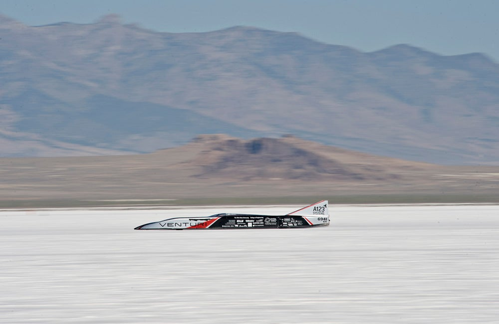 Ohio State's Buckeye Bullet Smashes World Record For Fastest Electric Car