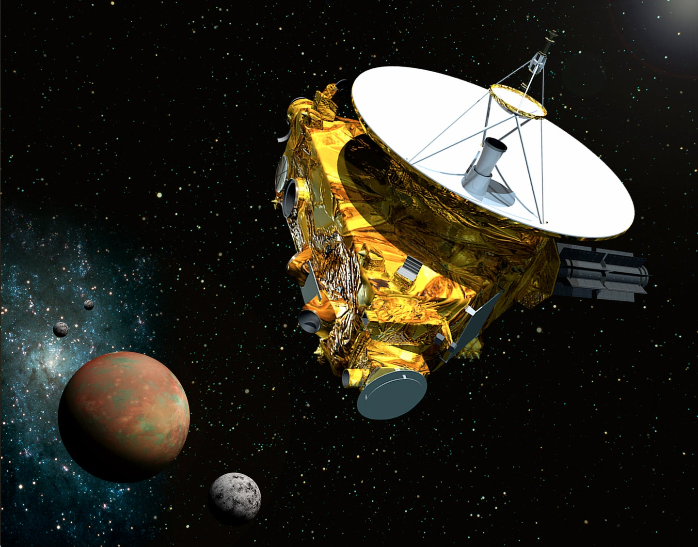 Coming In 2015: The First Spacecraft Encounter With Pluto