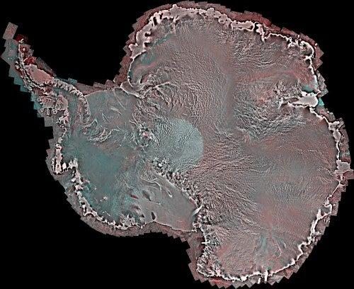 New map of Antarctica