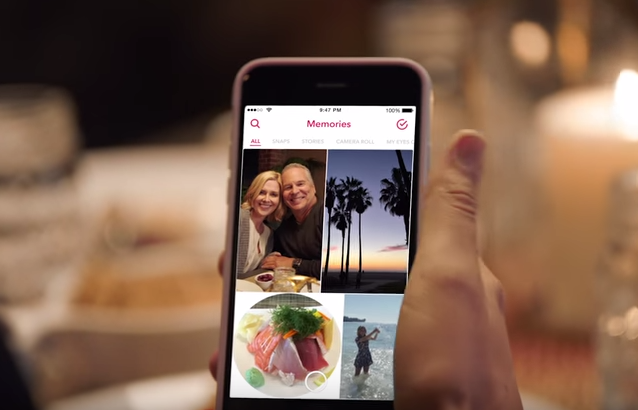 Snapchat Announces New 'Memories' Feature For Reliving Your Mundane Life