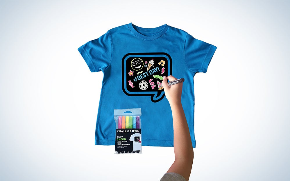 Chalk of the Town t-shirt