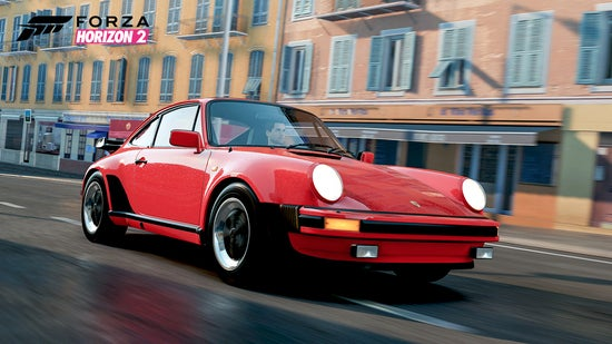 Vintage Porsche in Forza Horizon 2