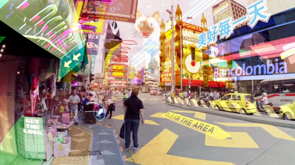 This Is What Happens When Augmented Reality Takes Over