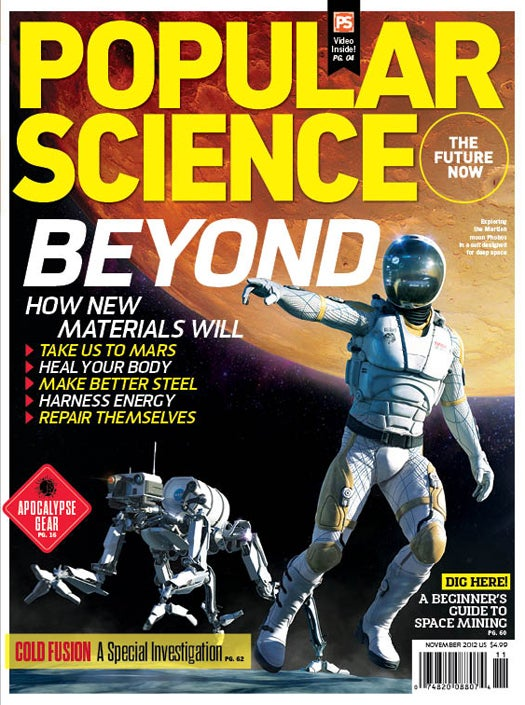 November 2012: Materials Of The Future