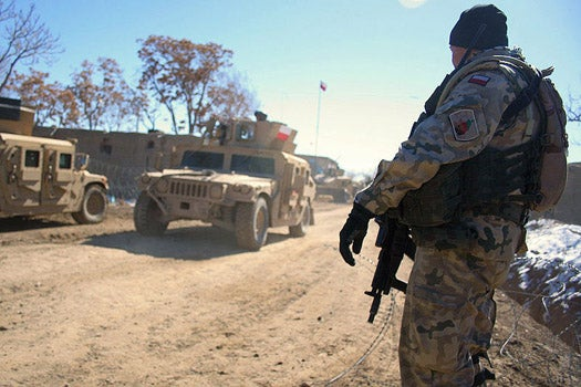 Polish Soldiers in Afghanistan Given Faulty GPS Units That Say They're Still In Poland, Or Maybe Africa