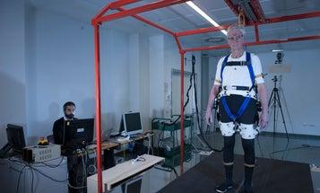 Prototype exoskeleton helps the elderly keep their balance