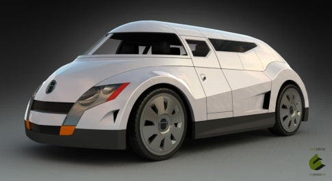 Next-Wave Astrovan: Canadians Pen All-Electric Concept With Aeronautic Touches