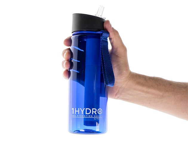 The 1HYDRO Series Filtration Bottle