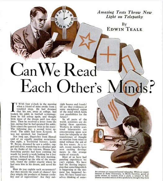 """Mind-Reading:"