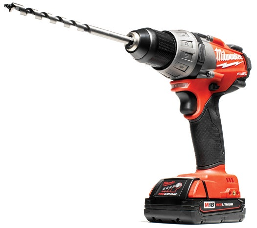 A New Motor Makes For A Stronger 18-volt Drill